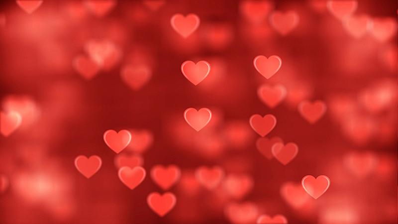 红色,背景,图像,抽象,动物心脏,华丽的,浪漫,概念象征,情人节卡,色彩鲜艳