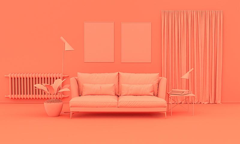 橙色,背景聚焦,留白,平原,单色调,室内,住宅房间,三维图形,照明设备,个人随身用品