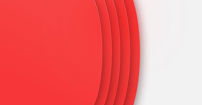 模板,红色,水平画幅,布告,三维图形,抽象,绘画插图,卷着的,空的