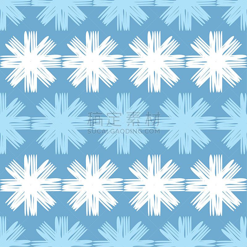 纺织品,冬天,雪花,矢量,式样,背景,华丽的,美,形状