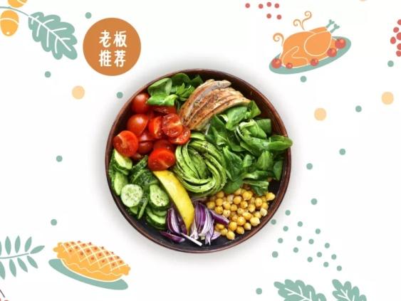 餐饮/促销/简约手绘/美团主图