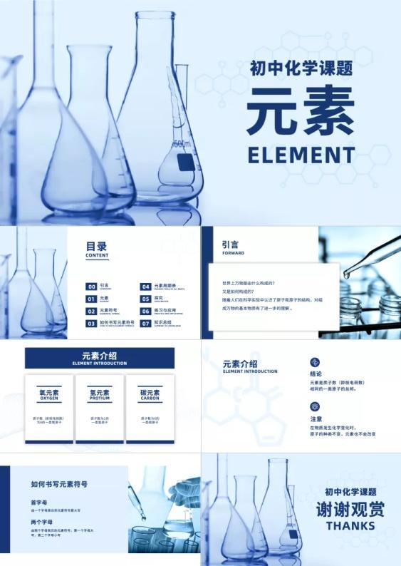 教育通用理工科化学课件PPT