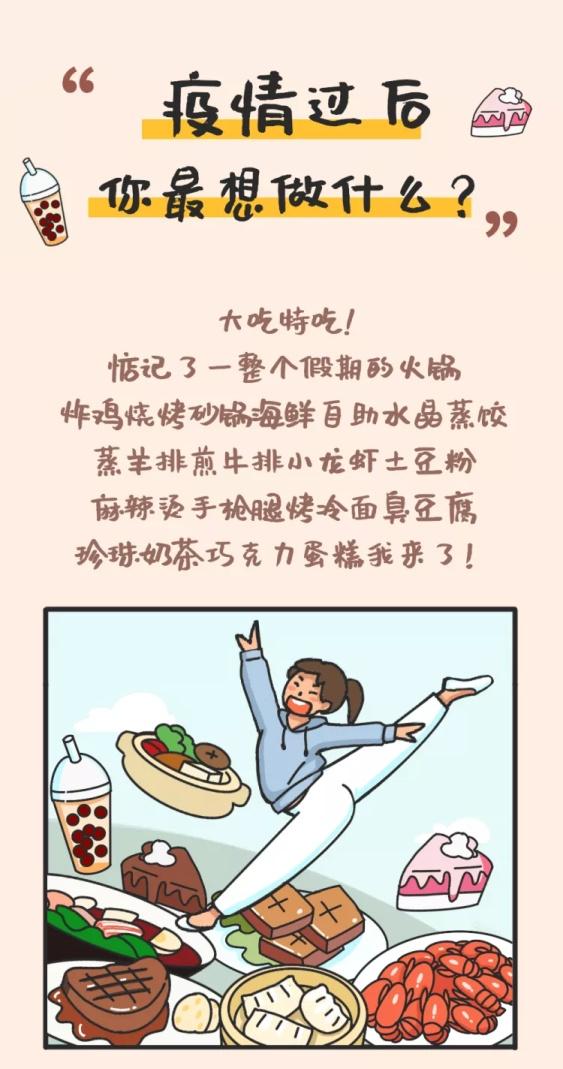 武汉解封肺炎疫情生活畅想条漫
