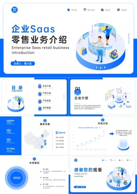 企业产品软件品牌介绍PPT