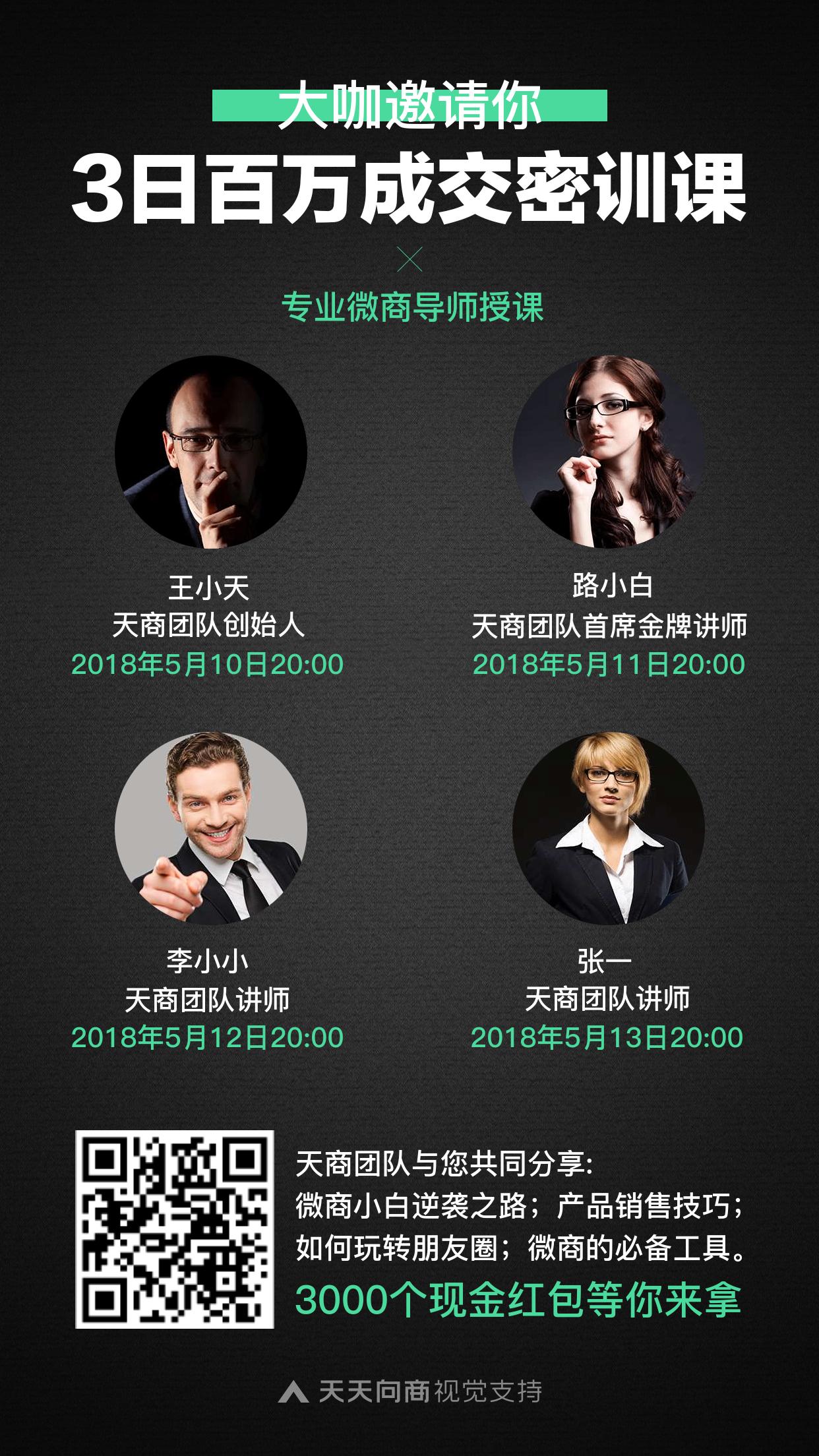 微商培训讲师介绍