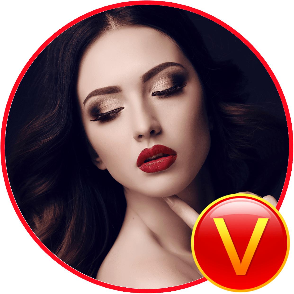头像加V模板-红V