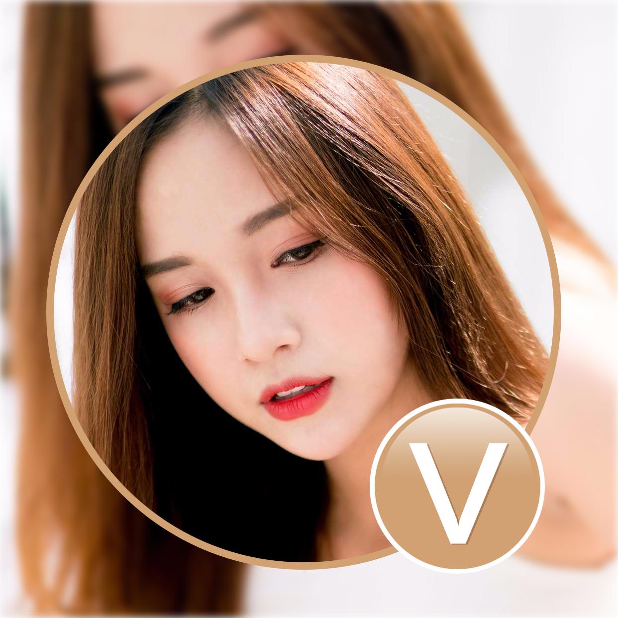 头像加V模板-画中画-黄V