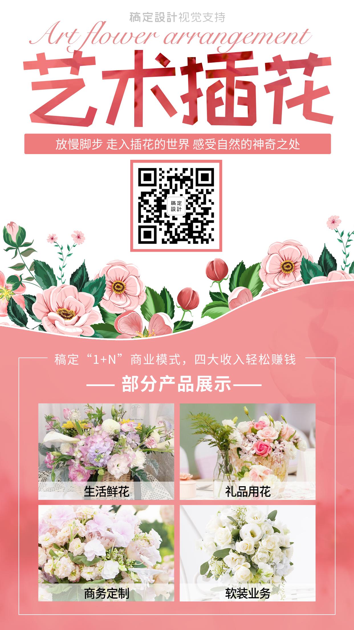 艺术插花产品展示