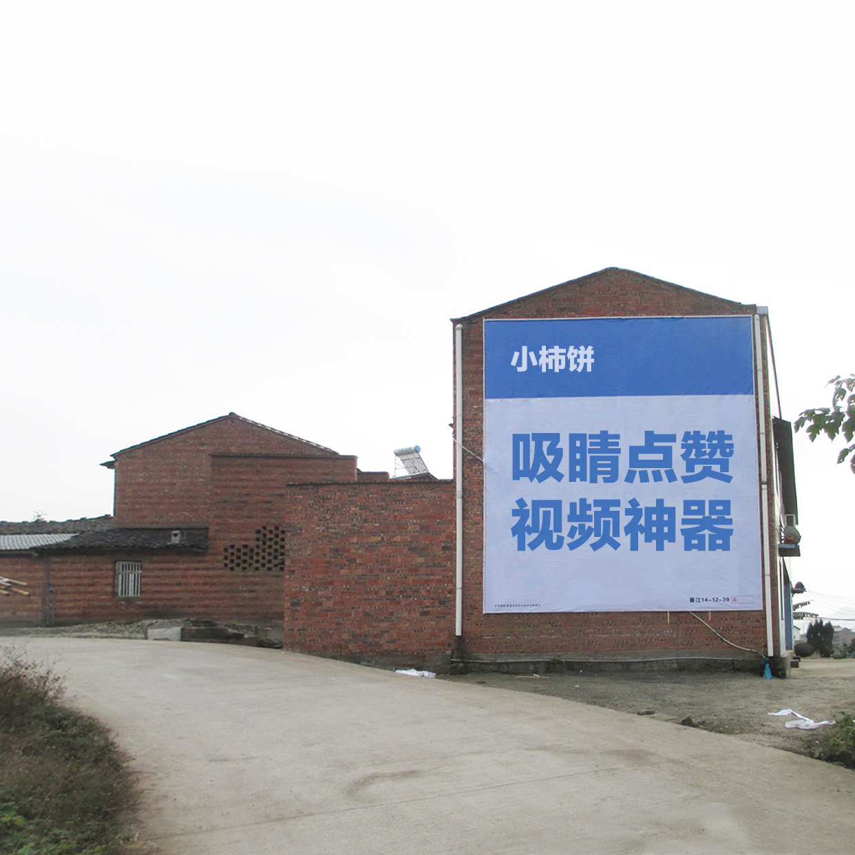 实景农村文化墙