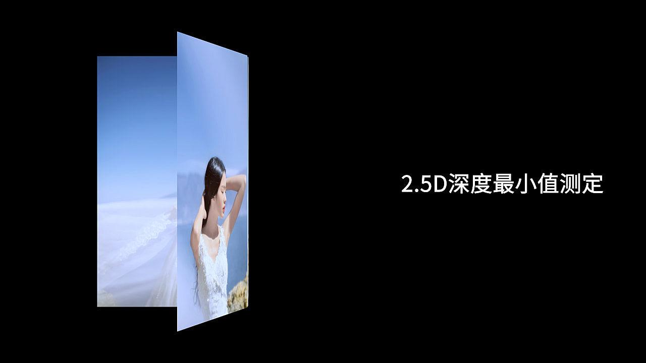 2.5D深度最小值测定